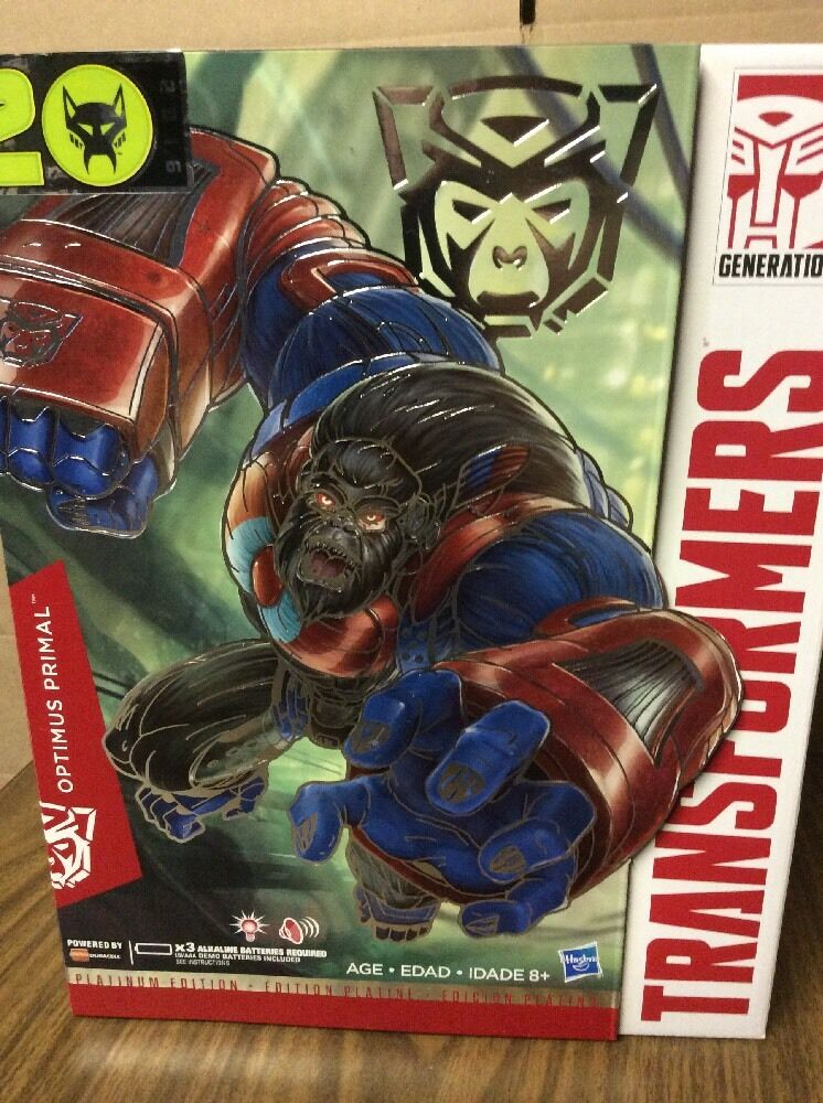 Transformers Platinum Edition Year of the Monkey Optimus Primal