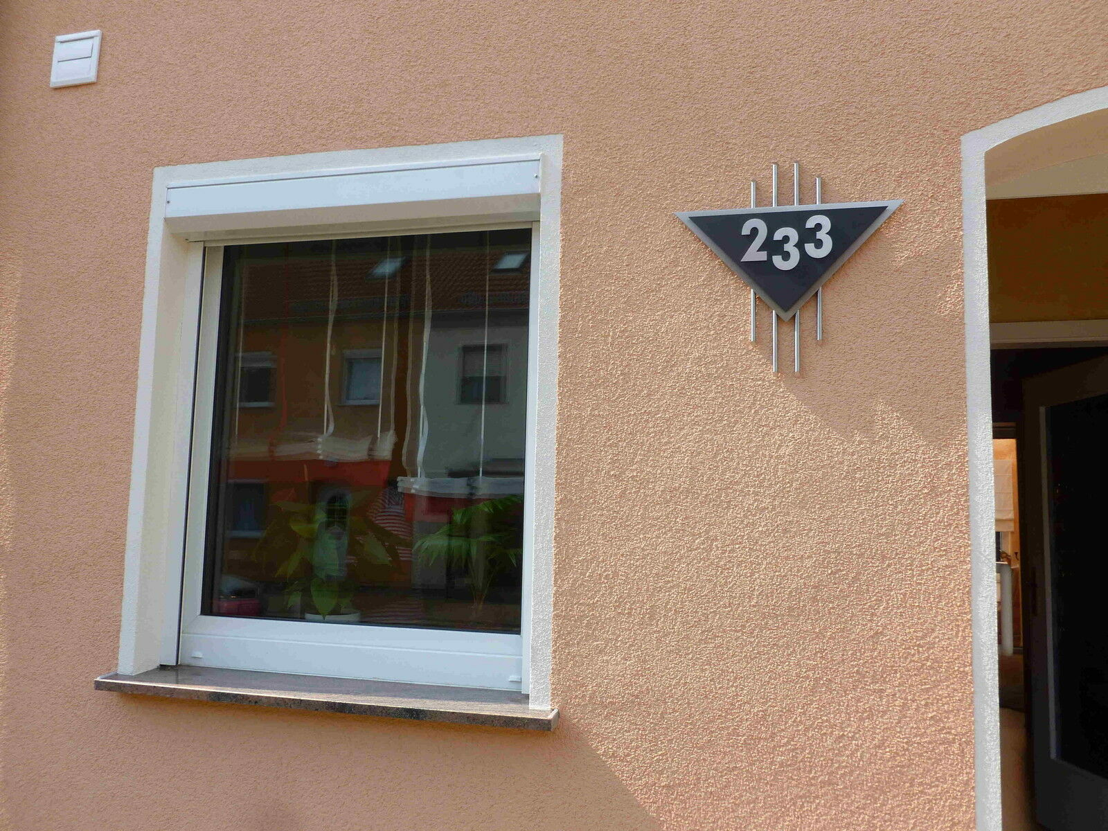 Hausnummer Edelstahl schwarz Venus 0-9 a b c d e e e f g h A B C D E F G H V2A | Hohe Qualität  | Bestellungen Sind Willkommen  | Sale Deutschland  d90644