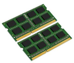 2x-4GB-8GB-Kit-KINGSTON-DDR3-SO-DIMM-RAM-1600-Mhz-PC3-12800S-Notebook-Speicher