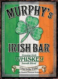 IRISH-BAR-DECORATION-WALL-DOOR-SIGN-METAL-PLAQUE-FOR-HOME-BAR-KITCHEN-PICTURES