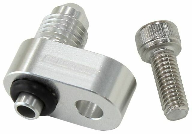 Aeroflow AF64-2186 Water Crossover Adapter -4an Male Nipple Fits LS Engines