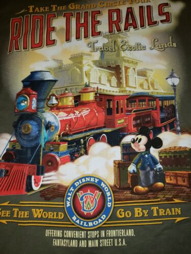 Ride the rails DISNEY PARKS GRAND CIRCLE TOUR RAIL