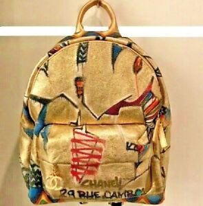 Chanel Graffiti Backpack 2019 Rare Limited Edition Ebay