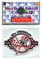 2003 York Yankees 100th Year Anniversary Official Mlb Baseball Jersey Patch