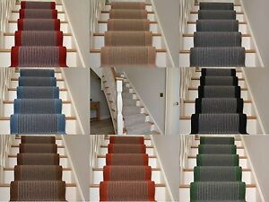 Image Is Loading Very Long Narrow Stairway Runner Rug Stripe Stair