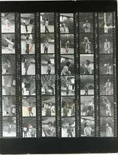 BROTHERS w/ MICHAEL JACKSON FIVE 5 1970S CANDID CONTACT SHEET by LOEW PHOTO 569S