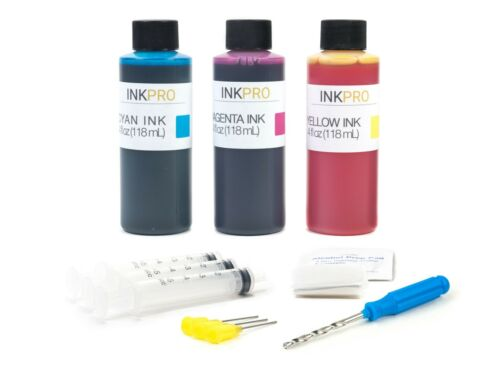 InkPro Premium Ink Refill Kit for Canon PG-245 CL-246 PG-245XL CL-246XL