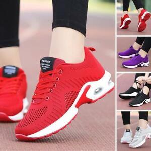 Chaussures-de-sport-a-coussin-d-039-air-pour-femme-Mesh-Athletic-Chaussures