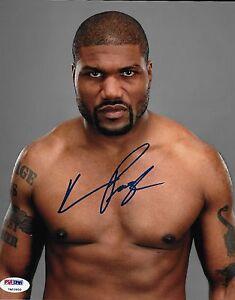Entertainment Memorabilia Rampage Jackson W/ Coa Signed 8x10 Autograph Ufc