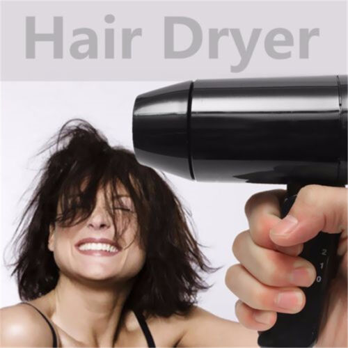 1 of 1 - 12V 216W Auto Travel Car Accessory Portable Window Foldable Camping Hair Dryer