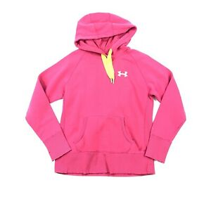 4d0f72c664b4 UNDER ARMOUR STORM Womens Size S Pink Hoodie Sweatshirt Waffle Lined ...