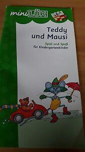 Lük Heft Teddy und Mausi - Elze, Deutschland - Lük Heft Teddy und Mausi - Elze, Deutschland