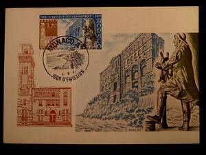 MONACO PREMIER JOUR FDC YVERT  1278    INSTITUT OCEANOGRAPHIQUE   1,20F    1981
