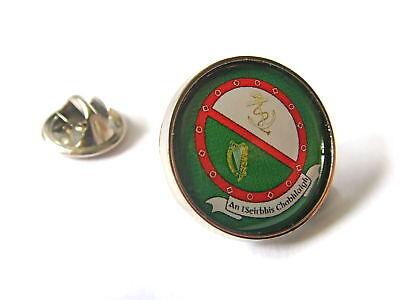 IRELAND NAVAL SERVICE IRISH DEFENCE LAPEL PIN BADGE