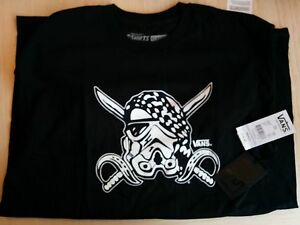 ddacc2f8a1 Vans Star Wars Darth Stormtrooper limited black t-shirt Small Mediam ...