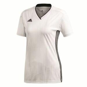 Adidas Football Soccer Womens Training Short Sleeve SS Jersey ...