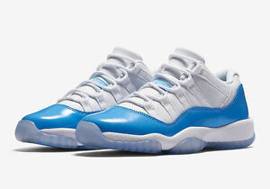 c991fa8ae0f8 Nike AIR JORDAN Retro 11 Low UNC CAROLINA UNIVERSITY BLUE ...