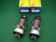 2 x KT88 JJ ELECTRONIC factory matched Pair new -> tube amp Röhrenverstärker