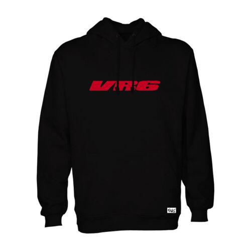 "EAKS® Hoody /""VR6-SCHRIFTZUG/"" Kapuzen Pullover Hooded Sweatshirt Logo Emblem"