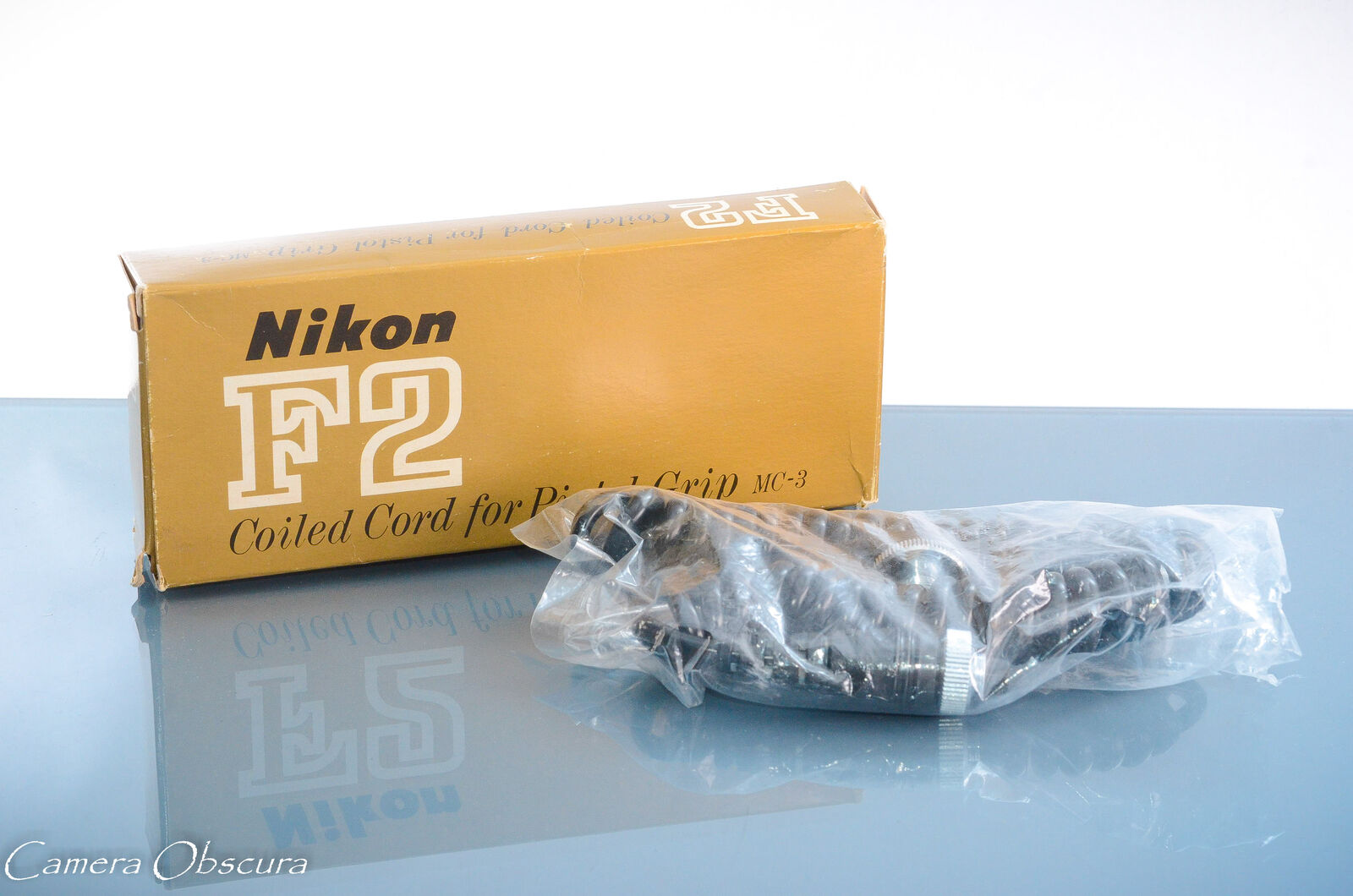 Nikon MC-3 Coiled Cord for Pistol Grip 2 and MD-1/MD-2 Motor Drive