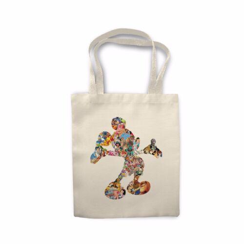Cartoon Dream Character Mickey Mouse Gift Shopping Sofa Cushion Cover Tote Bag