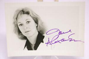 Original Autogramm Autograph JANE ALEXANDER