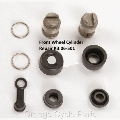 Shindy Front Wheel Cylinder Rebuild Kit Honda TRX300 FourTrax 88-98 ATV 06-501