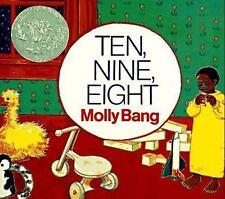 Ten, Nine, Eight by Molly Bang (1996, Board Book)