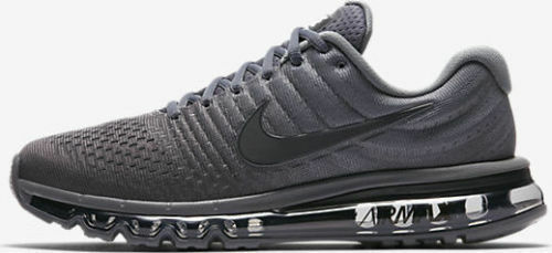 newest 25e9d ee9e7 Nike Air Max 2017 Men's Running Lifestyle Shoes 849559 008 Cool Grey,  Anthracite