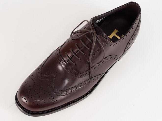 New  Harris  Dark Brown Handmade Shoes US US US 8 97fc3c
