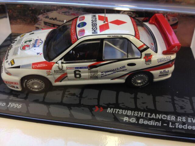 MITSUBISHI LANCER RS EVO III 1996 - 1:43 DIECAST RALLY WRC MODEL CAR IXO