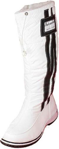 Damen Winterschuhe Boots Damenschuhe Stiefel Outdoor Schuhe mit Kunstfutter W154