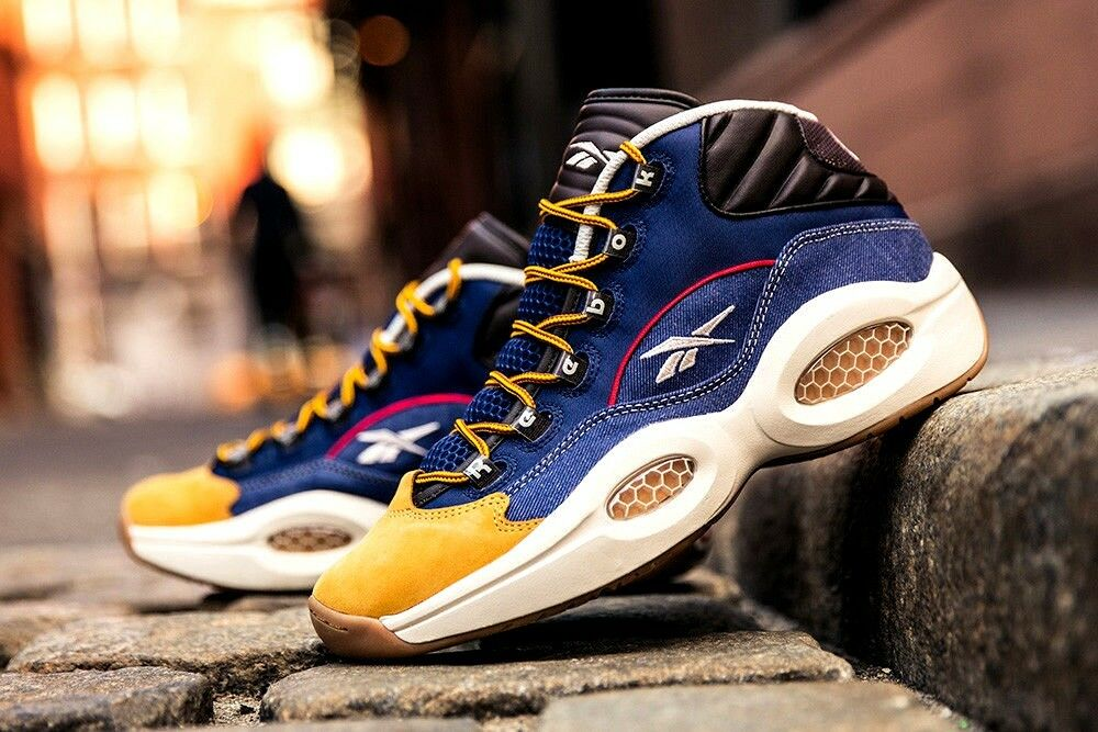 Reebok Question Mid Allen Iverson Answer Pump Rojo The 4 1 3 Sox V Shaq IV