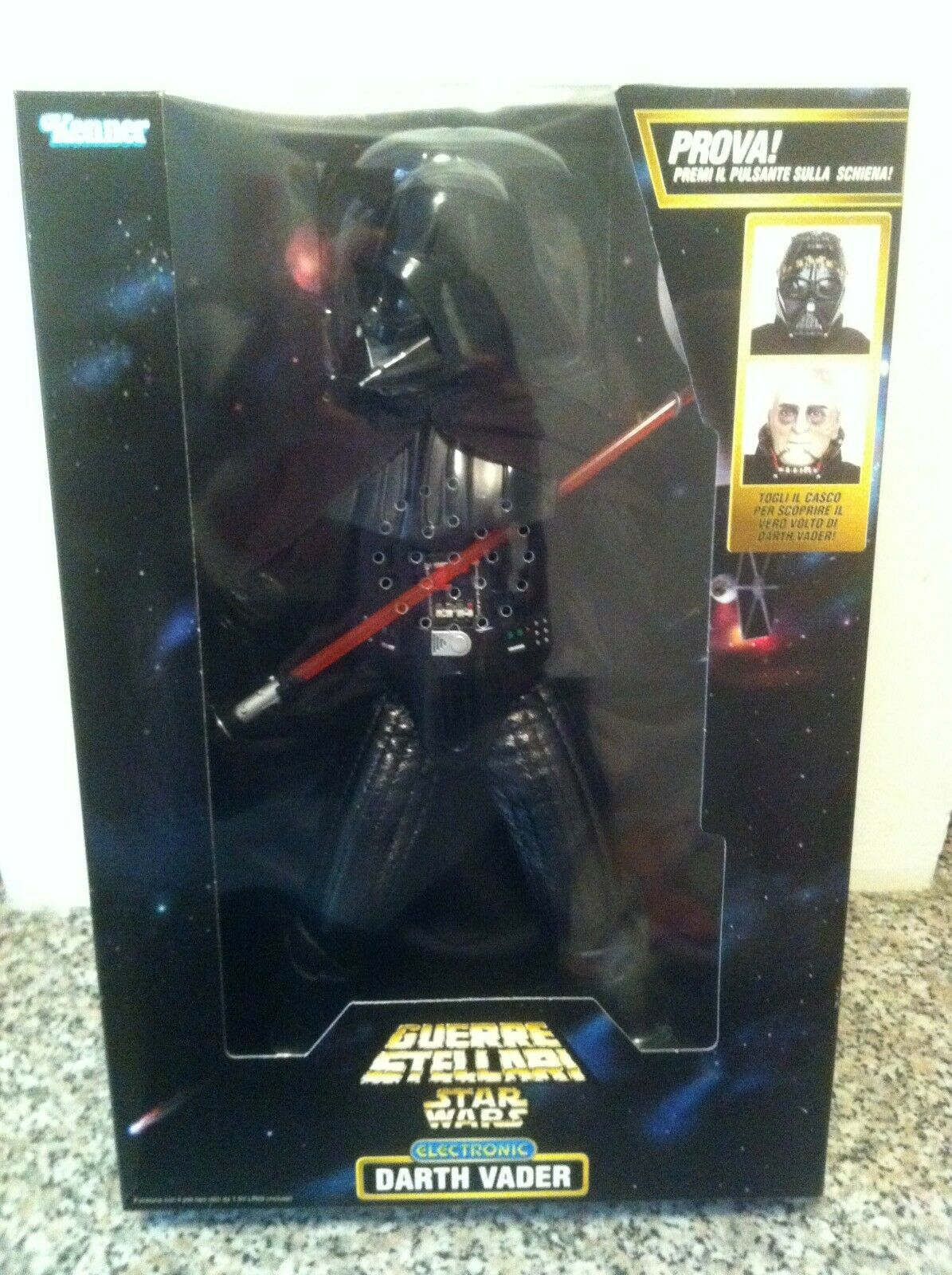 Guerre Stellari Star Wars Darth Vader action doll Kenner Hasbro 34 cm electronic