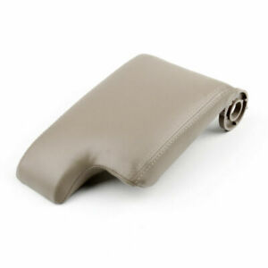 Leather Armrest Center Console Lid Cover For BMW E46 3 Series 98-06 Beige A01