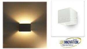 Applique led moderno doppio fascio di luce faretto per esterno