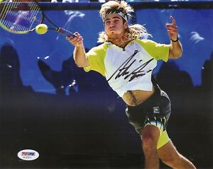 Andre-Agassi-Tennis-HOF-U-S-Open-Signed-Auto-8x10-PHOTO-PSA-DNA-COA