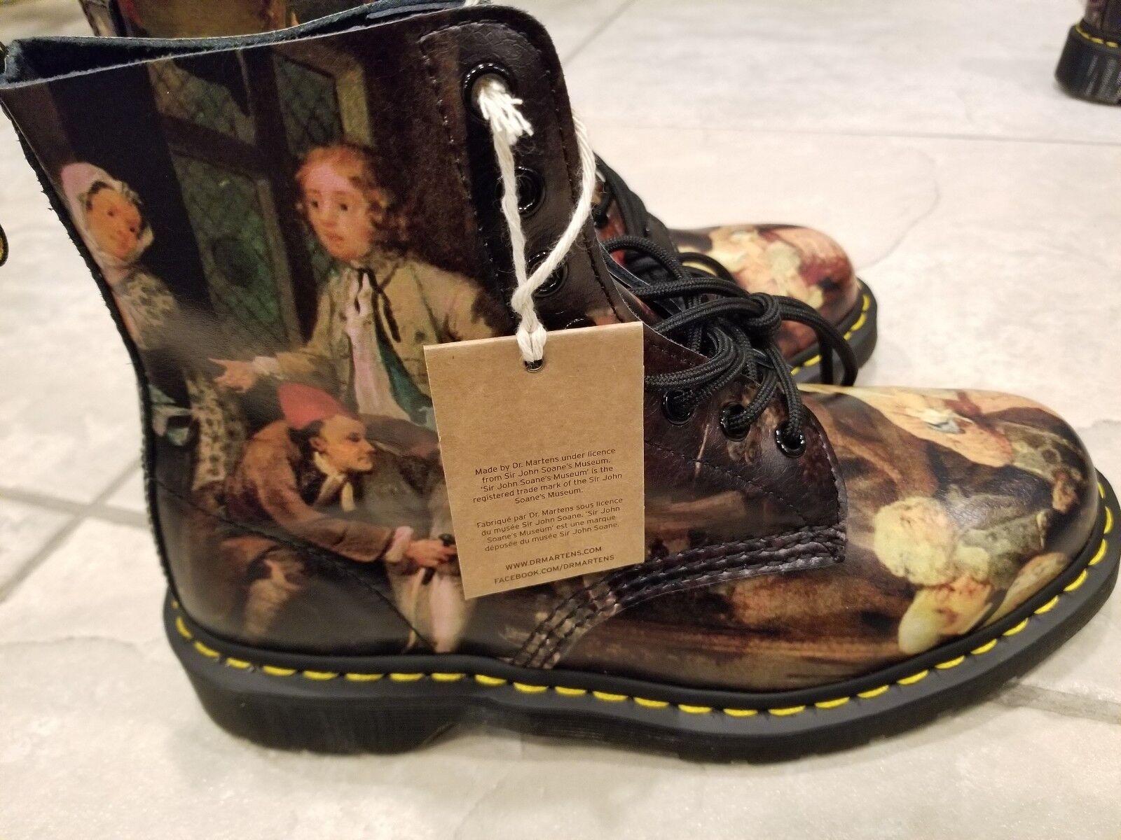 Dr Martens Uomo 13 Stivali Size Renaissance Artist Hogarth Pascal