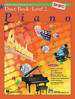 Alfred's Basic Piano Course: Top Hits Duet Book 2
