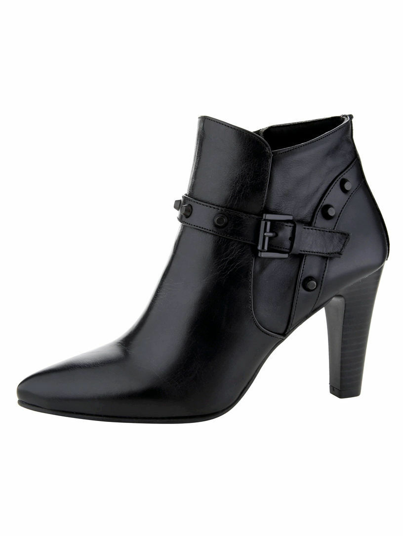 Pellicola's chauss da da da Donna Donna Stivali stivaletti pelle tg. 40 (6 726dc2