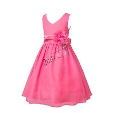 377f8848147cf0 Flower Girl Princess Formal Party Wedding Bridesmaid Ball Gown Birthday  Dress