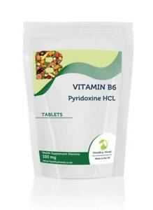 Vitamin-B6-Pyridoxine-HCL-100mg-x1000-Tablets-Letter-Post-Box-Size