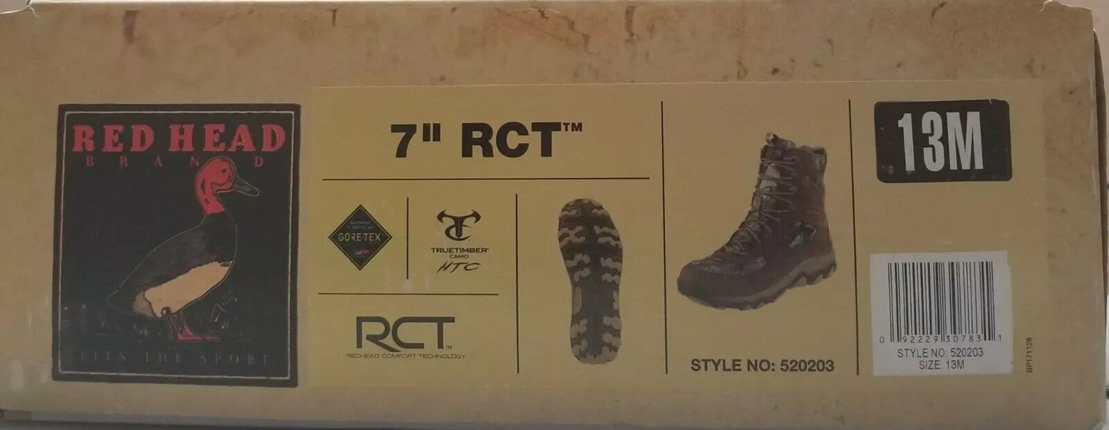 Red Head Brand Men's 7  RTC  Hunting Boots Size 13M  online shopping sports