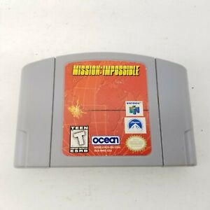 AUTHENTIC-Nintendo-64-N64-Mission-Impossible-Game-Cartridge-Only-Tested-amp-Works