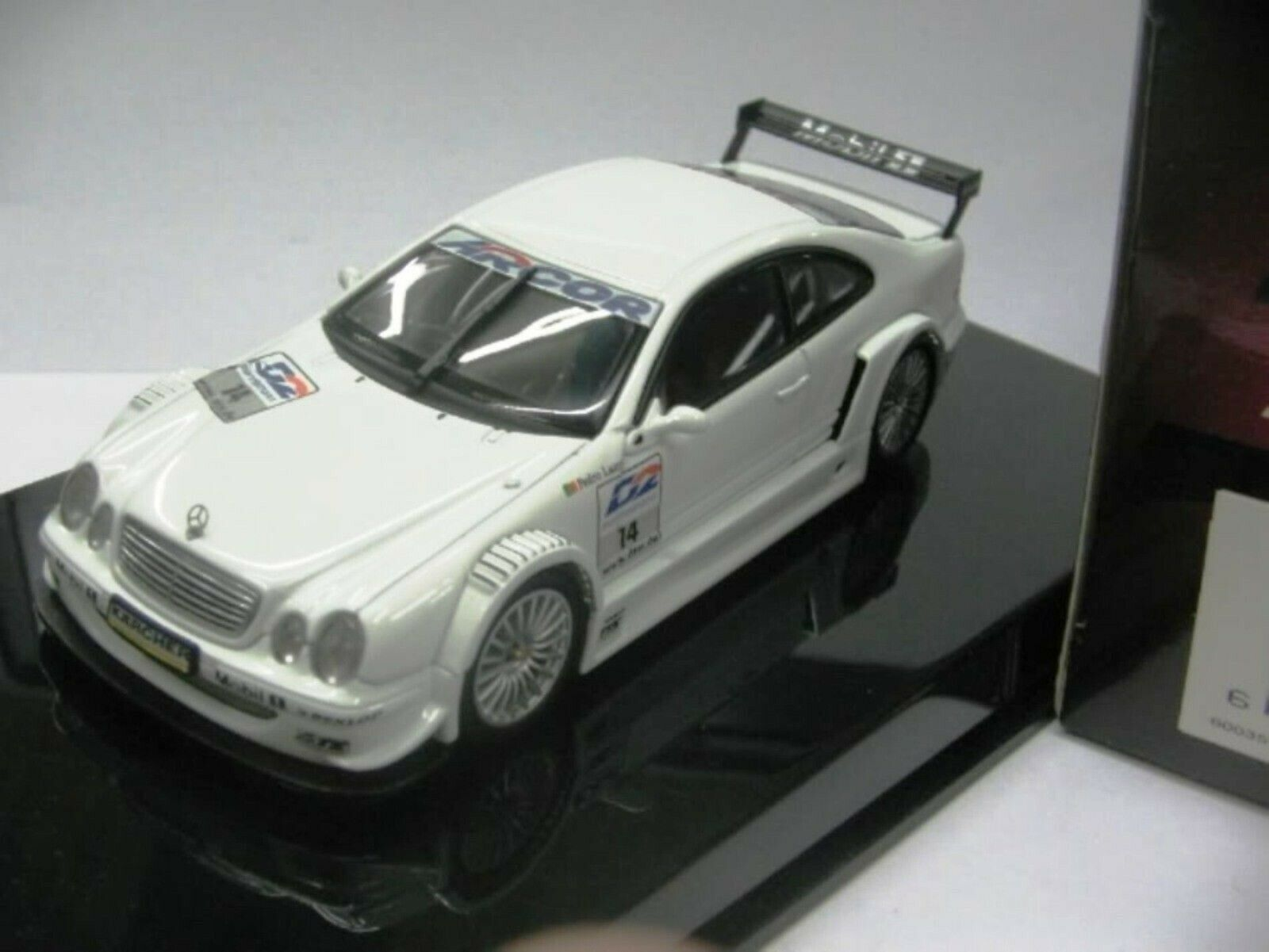 Wow extremamujerte raro Mercedes DTM 2000 CLK400 Lamy 1 43 Auto Art-Minichamps