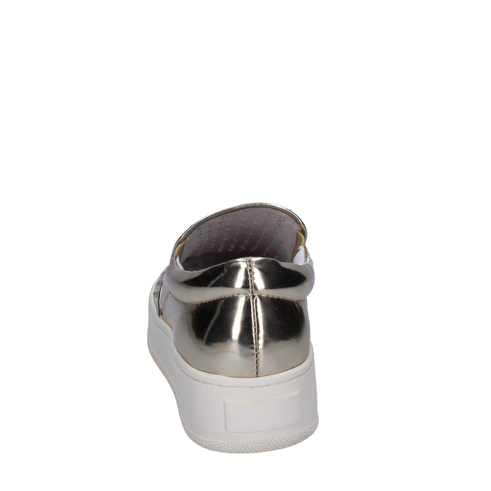 Womens shoes UMA UMA UMA PARKER 3 (EU 36) slip on gold leather BT565-36 bf94cc