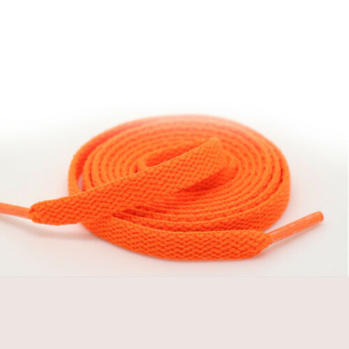 Elastic Shoe Laces Flat Coloured Shoelaces Football Boots Trainer Shoes Strings