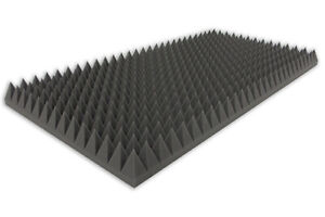 Mousse Pyramides Type 100x50x7 Mousse Acoustique Son Tapis Isolant