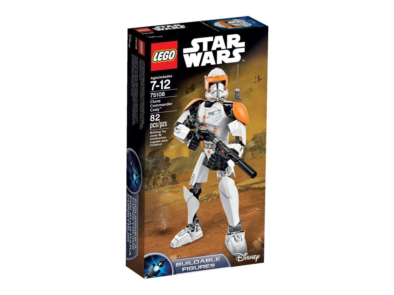 Lego stjärnornas krig 75108 CLONE Commander CODY Minifigs Empire Saga Jedi figur NISB