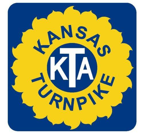 Kansas Turnpike Sticker R3682 Highway Sign Road Sign